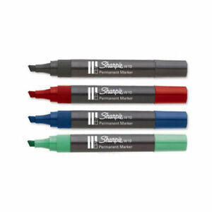 Sharpie W10 Chisel Tip Permanent Marker (SOLD AS SINGLE)