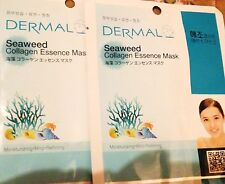 DERMAL SeaWeed Collagen Essence Mask for Refining, Soothing, face mask anti agei