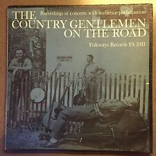 The Country Gentlemen On The Road*Folkway Records FA2411
