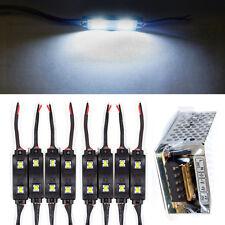 8PCs Kitchen Under Cabinet Counter LEDs Lights Bar Kit Cool White Energy Saving