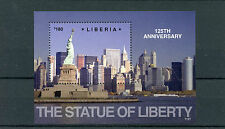Liberia 2011 MNH Statue of Liberty 125th Anniv 1v SS New York Skyscrapers Stamps