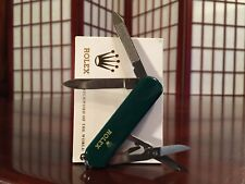 Rolex Collectible Authentic Pocket Utility Nail Clip Kit w Blade Scissors & File