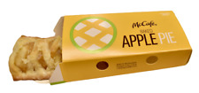 McDonalds Apple Pie Box Included 2 Pieces Fake Food Prop L@@k.