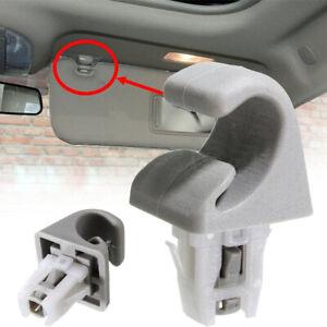 1 Car Sun Visor Clip Hook For Toyota Camry Corolla Highlander Prius RAV4 Bracket
