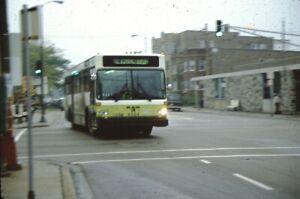 CTA Chicago Transit Authority Man Bus original Slide