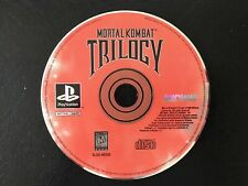 PS1 - Mortal Combat Trilogy - DISC ONLY
