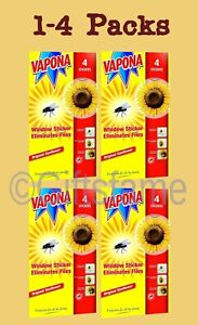 1-16 Vapona Window Sunflower Fly Flies Insect Wasp Pest Killer Stickers