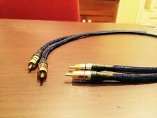 Audiophile grade RCA interconnect cables! Handmade in USA 3 ft  tube phono