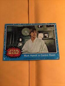1977 Topps Star Wars Luke Skywalker #7/11 Pwe..
