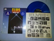 Elvis - Moody Blue LP AFL1-2428 1977 (NM-) Blue Press Tested RARE