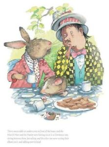 Helen Oxenbury March Hare & Mad Hatter Official Collector's Edition Art Print 58