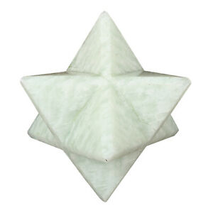 Amazonite 8 Point Merkaba Star Natural Gemstone Crystal Handcrafted Indian Stone
