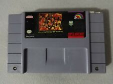 EUC WWF Raw Super Nintendo SNES Cart Only Free Ship