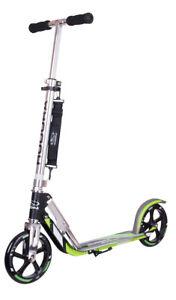 Ausstellungsstück: Hudora Big Wheel GS 205 Scooter 14695/02 Roller anthr./grün