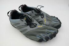 Vibram Mens V-Trail FiveFingers Running Shoe Dark Grey Size US12.5-13 EU 48 Used