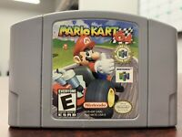 Mario Kart 64 (Nintendo 64, 1997) Tested / Authentic N64 / Cartridge Only