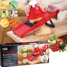 Julienne Mandolin Slicer Cutter Chopper Pulp Fruit Vegetable Veg Peeler Dicer