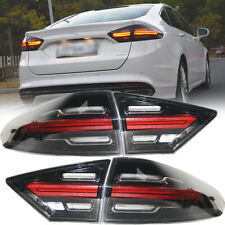 Set For Ford Fusion 2013 2014 2015 2016 Rear Lamps LED Tail Lights Left Right