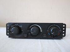 01-06 Mitsubishi Montero Lmtd XLS AC Heater Climate Control Module OEM MR500650