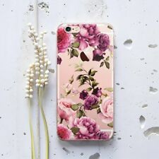 Beautiful Roses iPhone XS Max Rubber Case Floral iPhone X XR Silicone Snap Case