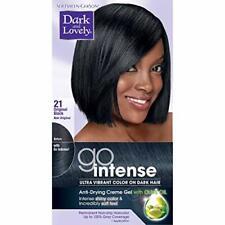 Dark and Lovely Go Intense Hair Color on Dark Hair, Original Black 21
