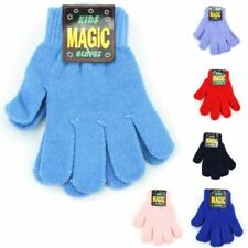 Kids Stretchy Gloves Magic Gloves Knitted Warm Winter Toddlers Children