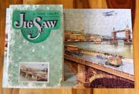 GWR CHAD VALLEY LONDON HIGHWAYS VINTAGE 1934-36 BOXED WOODEN JIGSAW PUZZLE