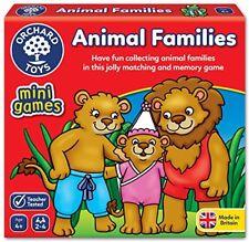 Orchard Toys Animal Families Mini  Travel Game