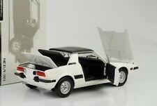 FIAT X 19 x / 19 1974 blanc 1:18 Minichamps Diecast