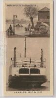 1837 Horse Ferry and 1937 Cross-Channel Train Ferry 80 Y/O Ad Card