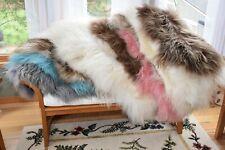 Custom Made Genuine Icelandic Sheepskin Rugs,pillows,Chair Cushions,Troll Wigs