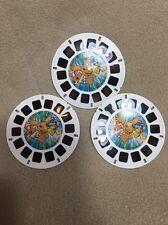 Digimon Digital Monsters 2000 View-master Reel Set on Card Fox Kids