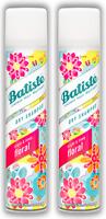 2 x BATISTE Instant Hair Refresh DRY SHAMPOO, FLORAL 6.73 oz 200mL - New & Fresh