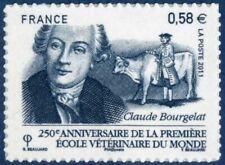TIMBRE FRANCE AUTOADHESIF 2011 N° 0565 NEUF ** 250 ans 1ère école vétérinaire