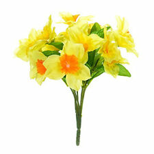 Artificial Posy of Yellow Daffodils