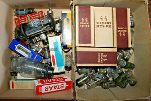 Elektronenröhren /Konvolut  - ECC81 - PL519 - ECC85 - ECC82 - AZ1 - 6AQ5/EL90...