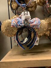 *New 2019 Disney Parks Riviera Resort Dvc Grand Opening Minnie Headband Ears