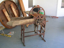 antique corn stalk forage chopper silver manufacturing co. ohio all original