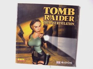 51926 Instruction Booklet - Tomb Raider The Last Revelation - PC (1999)
