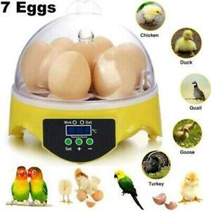Egg Incubator Automatic Digital7 Chicken Duck Temperature Control Incubato r s