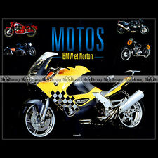 Motos BMW et NORTON (R32 R11 Kompressor R51 R25 R69S R50 R90S R100 RS R80 GS...)