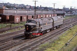 1 Duplicate Railroad Slide -  PENNSYLVANIA RR 9736 + 1 at Altoona PA