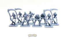 Minis3D -Rep. Heroquest - Remake F. Schizzo - Undead: Mummy, Skeleton, Zombie