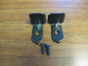 2 Futon Frame Support Brackets with Bolts.  Futon Parts/ Futon Hardware