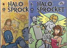 HALO AND SPROCKET LOT - #1 #2 (NM) KERRY CALLEN