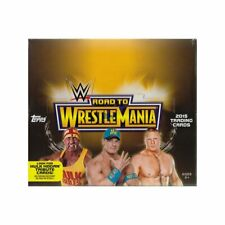 [HOBBY BOX] 2015 Topps WWE ROAD TO WRESTLEMANIA WRESTLING Factory Sealed 24PACKS
