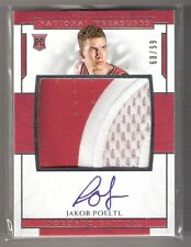 Jakob Poeltl 16/17 National treasures RPA auto patch RC #147 SN #68/99