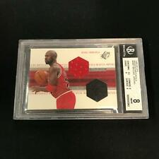 1999-00 Upper Deck SPx Winning Materials MICHAEL JORDAN Jersey/Shoe BGS 8 *RM4