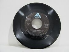"""45 RECORD 7""""- BARRY MANILOW  CAN'T SMILE WITHOUT YOU"""