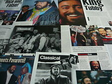 Pavarotti - Magazine Cuttings Collection (Ref Z18)